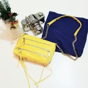 REBECCA MINKOFF Yellow crossbody bag